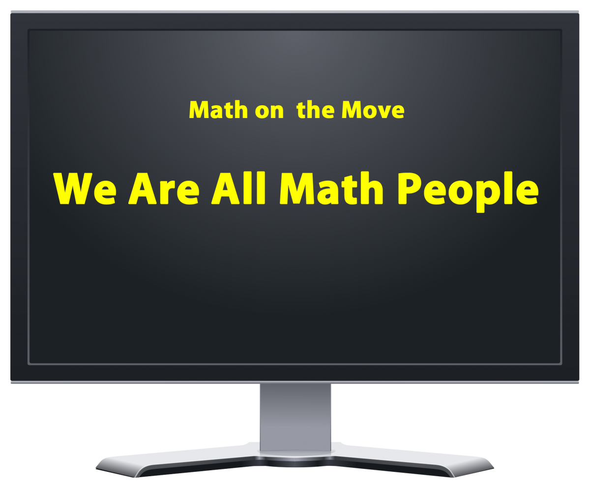 We are all math people