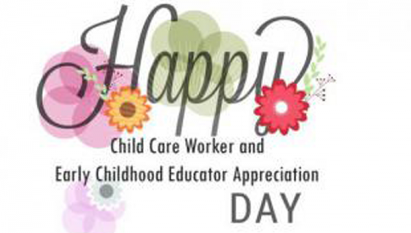 childcare worker & ECE appreciation
